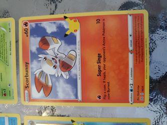 4 Pokemon Card Lot Thumbnail