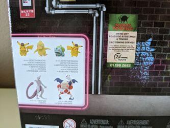 Pokemon toys - Pokemon figures - Pokemon Detective Pikachu set - poke balls - pokemon balls - brand new Thumbnail