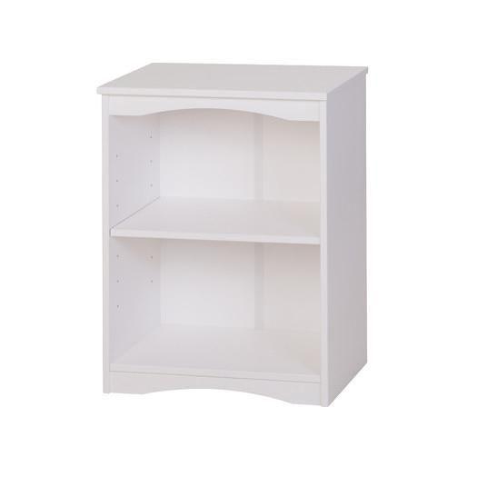 Camaflexi 41103 Essentials Wooden Bookcase 48 in. High - White Finish
