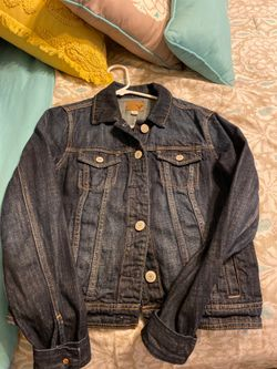 American Eagle denim dark jacket MEDIUM
