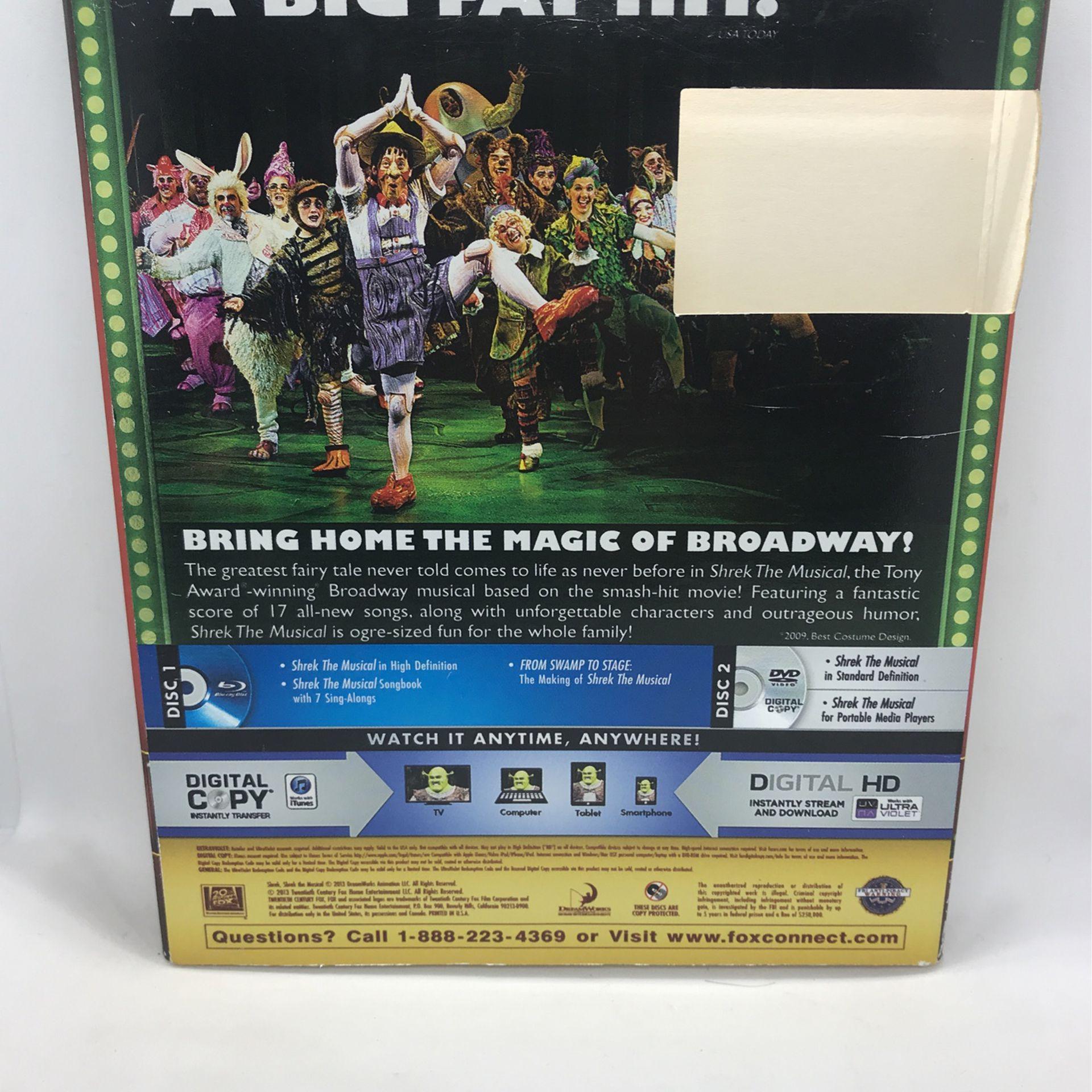 Shrek The Musical Blu-ray DVD