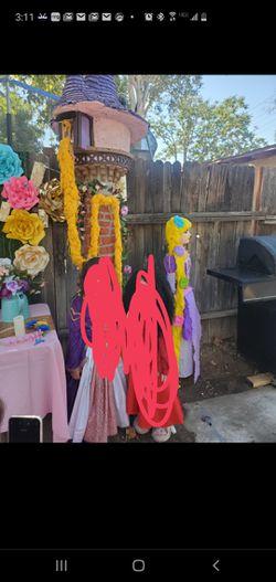 Rapunzel themed party Thumbnail