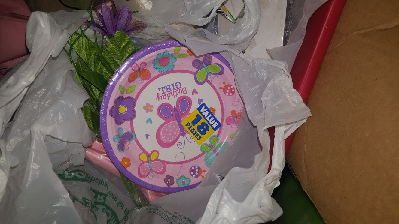 Butterfly Birthday items