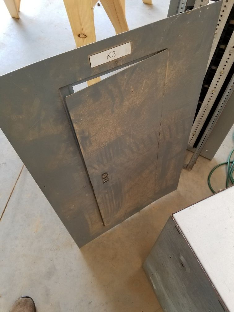 3 Phase Panel with Circuit Breakers, Small, Garage Shed Barn