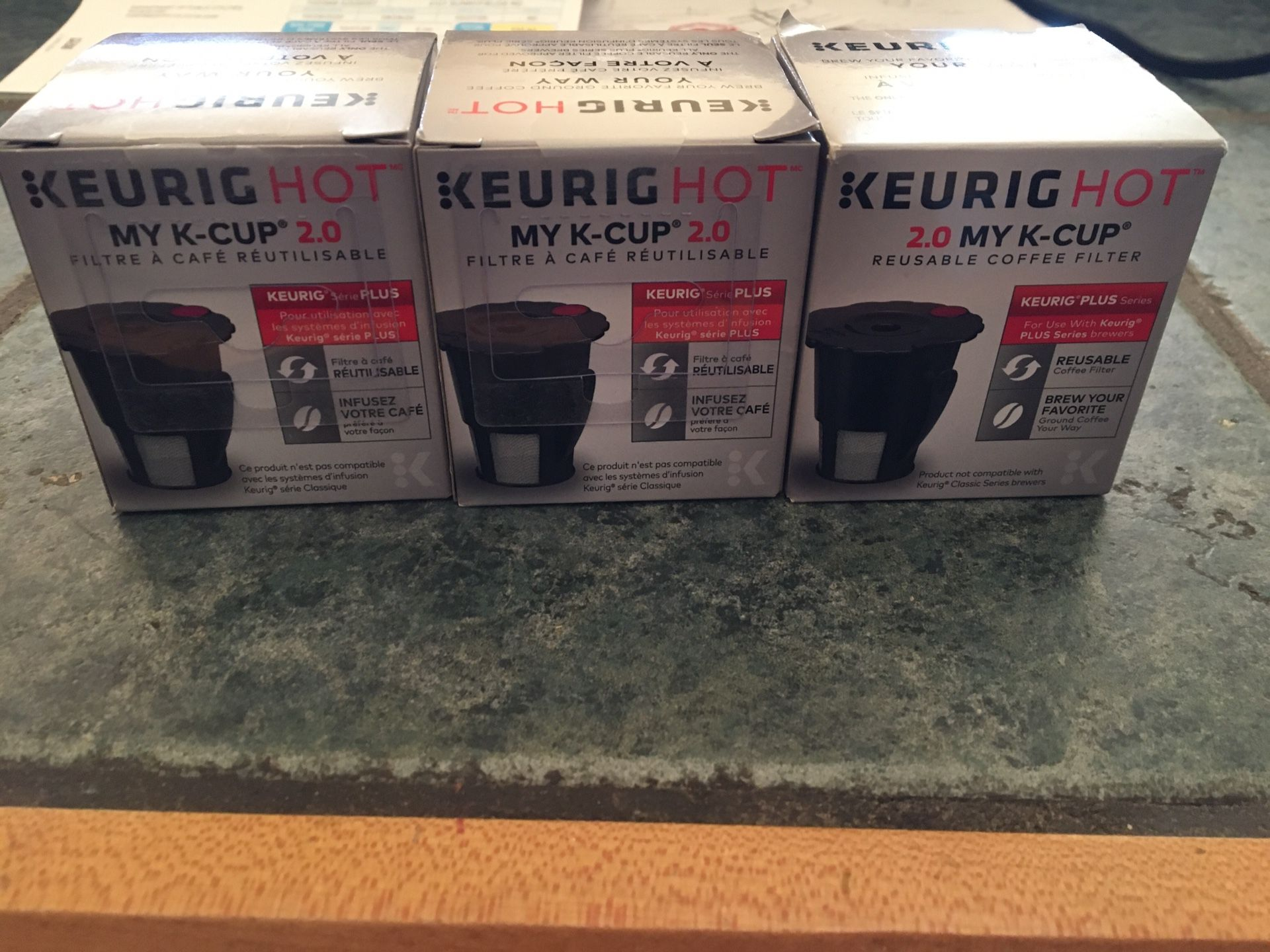 Keurig my k cup 2.0 reusable filters for ground coffee