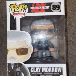 Funko Pop Sons Of Anarchy Clay Morrow 89 Vaulted Thumbnail