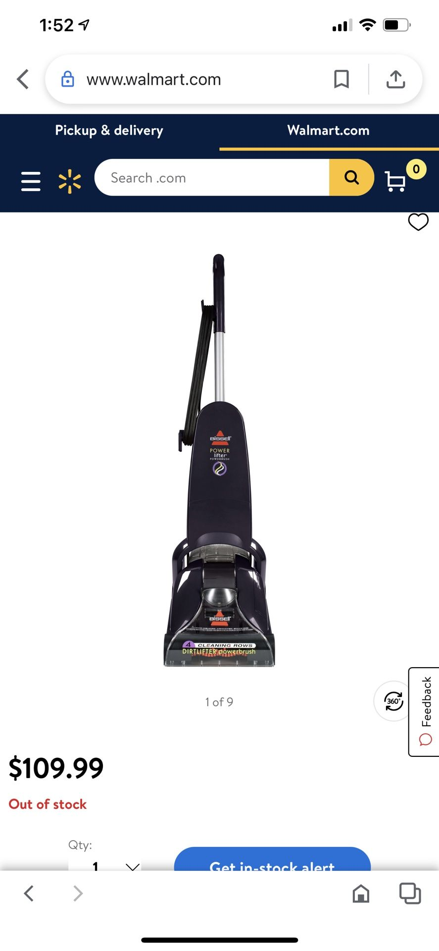Bissel Vaccumm Cleaner And Shampooer