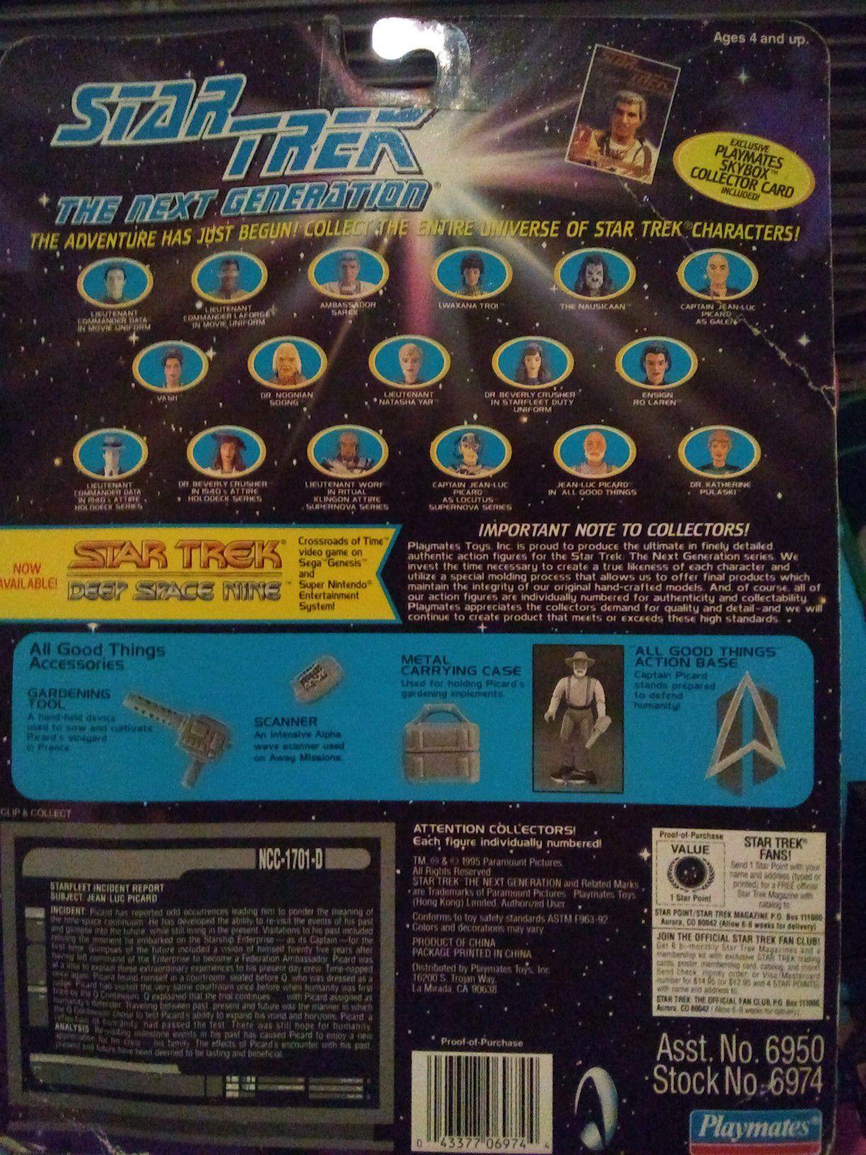 Star Trek action figure