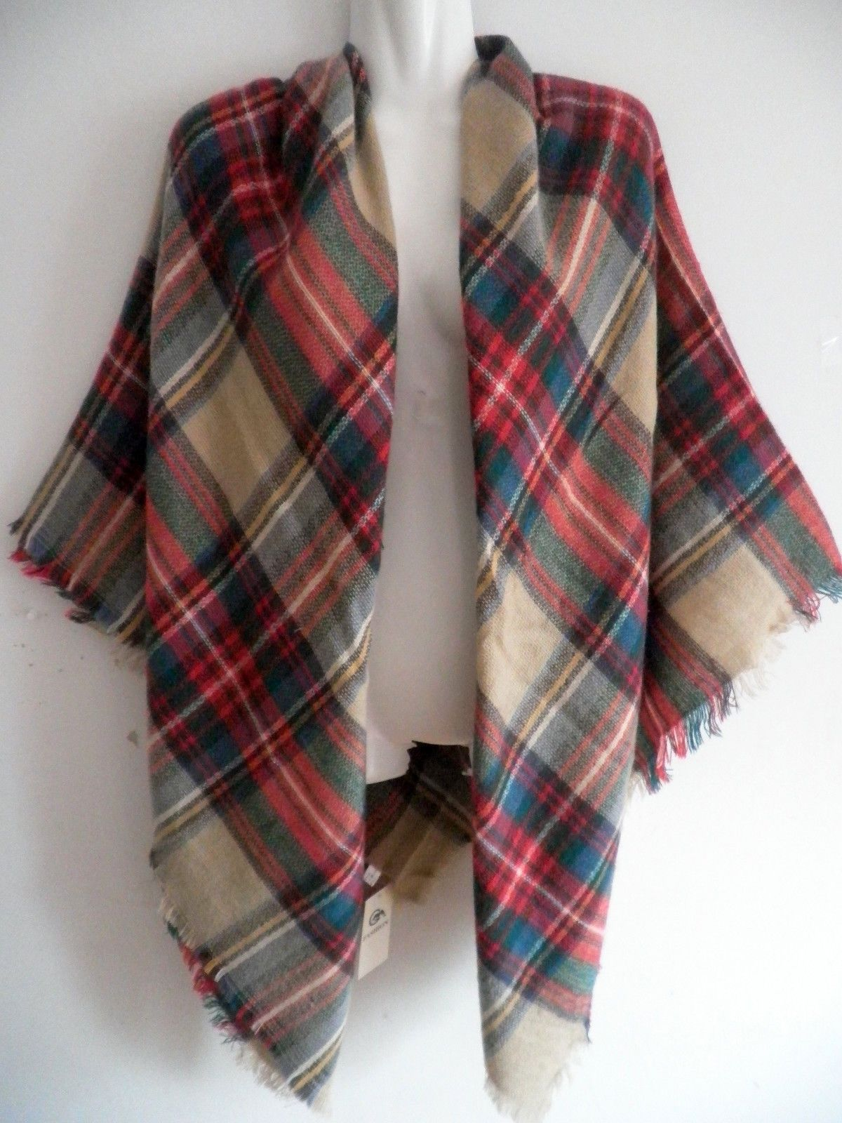 Brand New Gorgeous Warm Soft Scarf Blanket Wrap Shawl in a package