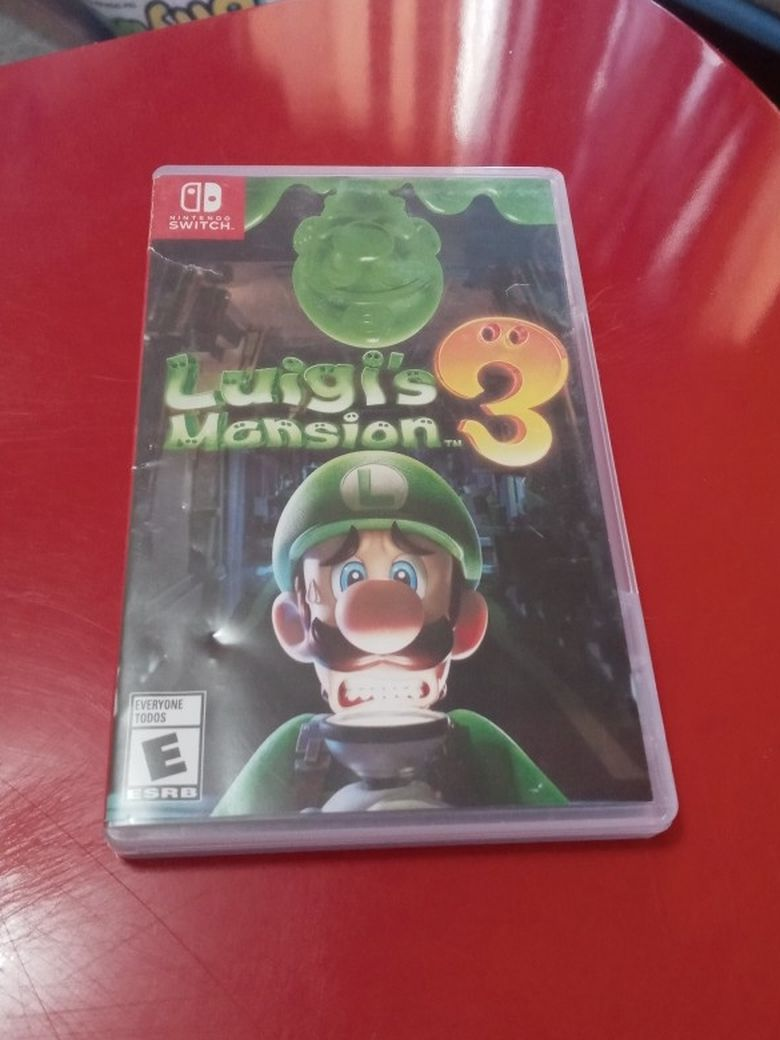 Luigis Mansion Nintendo Switch