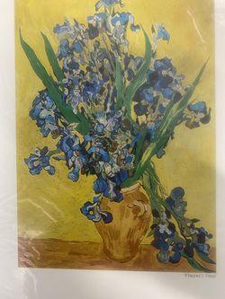 "Vincent Van Gogh ""Irises"" Global Street Arts from Amsterdam Thumbnail"