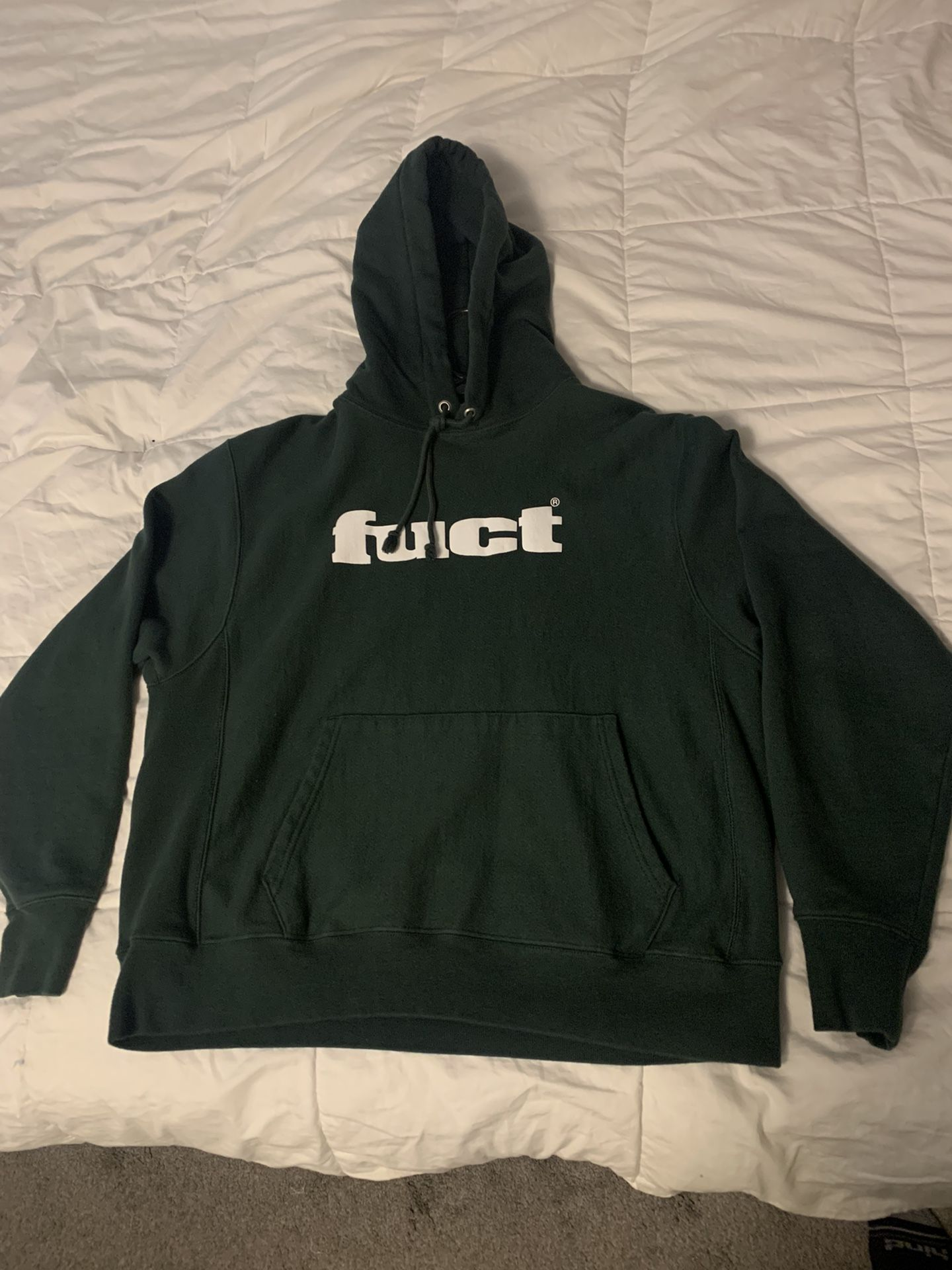 Fuct Og Logo Reverse Weave Hoodie