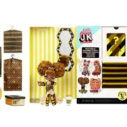 L.O.L. Surprise! JK Queen Bee Mini Fashion Doll with 15 Surprises Thumbnail