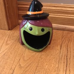 Witch Ceramic Candy Dish Thumbnail