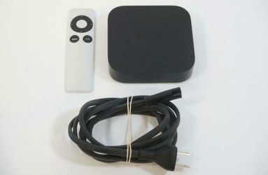 Genuine Apple TV A1469 3rd Generation with Remote & Power Cord Thumbnail