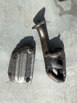 OEM 350z exhaust and headers. Thumbnail