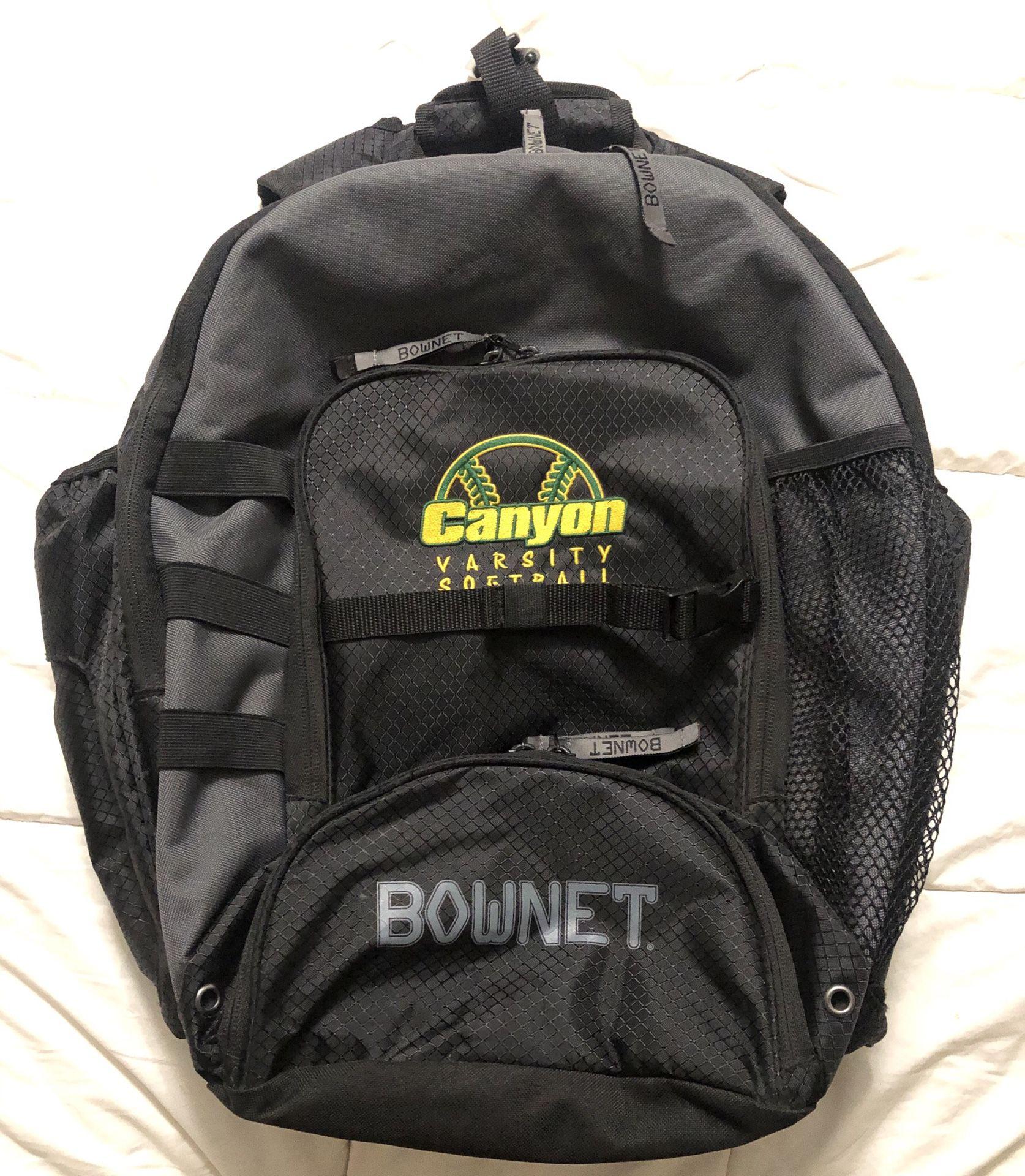Bownet Baseball / Softball Backpack