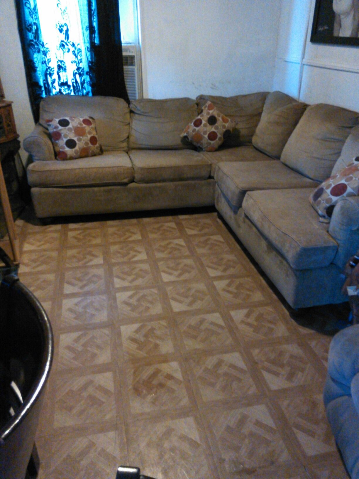 used sofa been clean