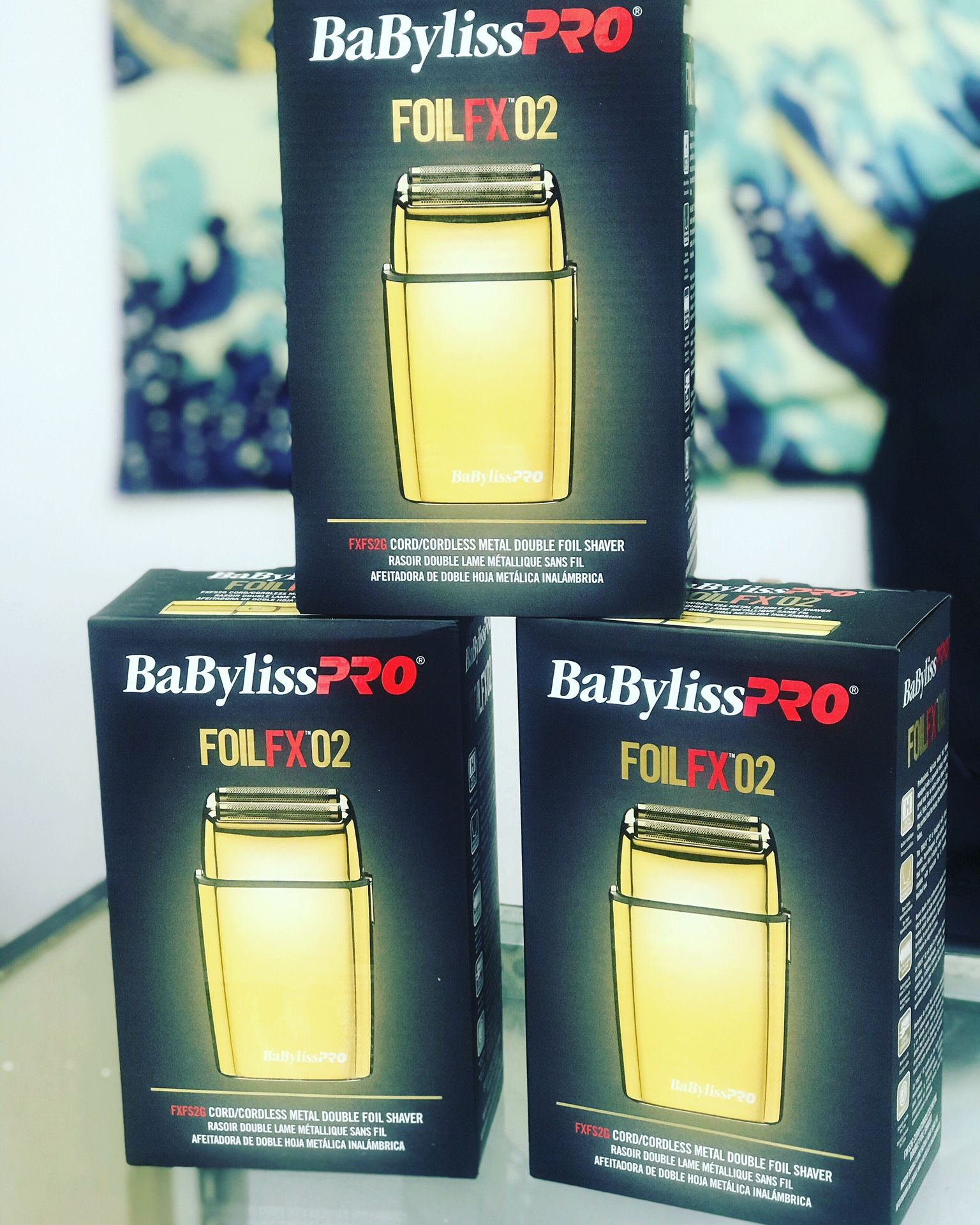 Babyliss pro foil fx02