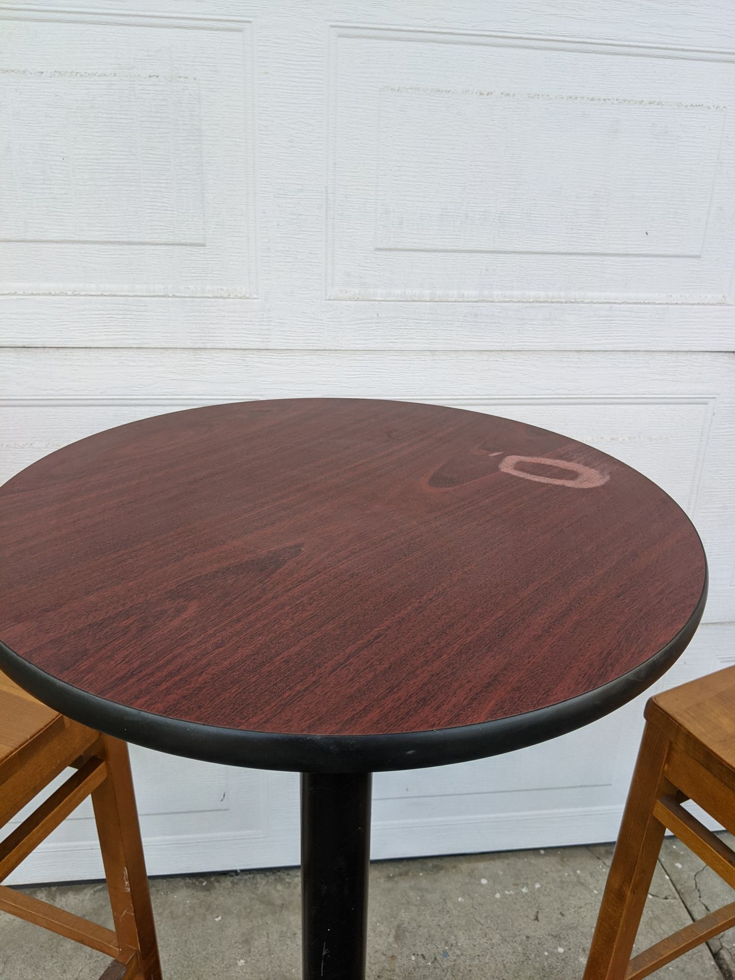 Bar Height Patio/Cafe/Restaurant Tables For 2 (2 Sets)