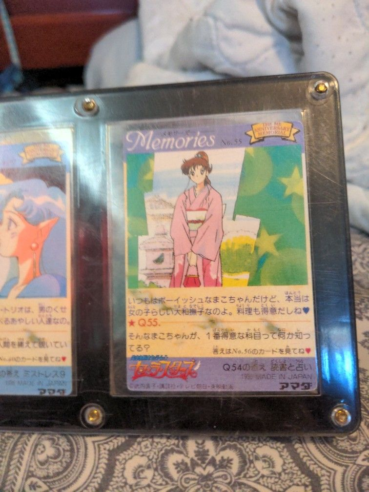 Holographic Sailor Moon Cards