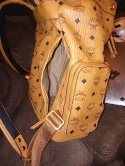 Authentic New MCM ° Munchen °  Brown Mens Backpack5 Thumbnail