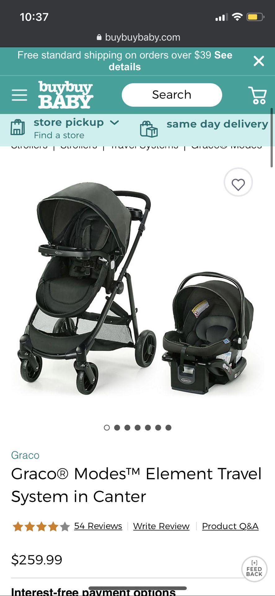 Unopened GRACO Stroller & Infant Car Seat