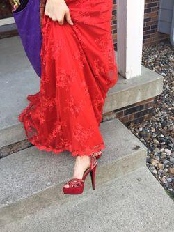Prom dress & matching shoes Thumbnail