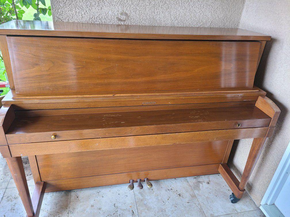 Antique Hamilton Piano