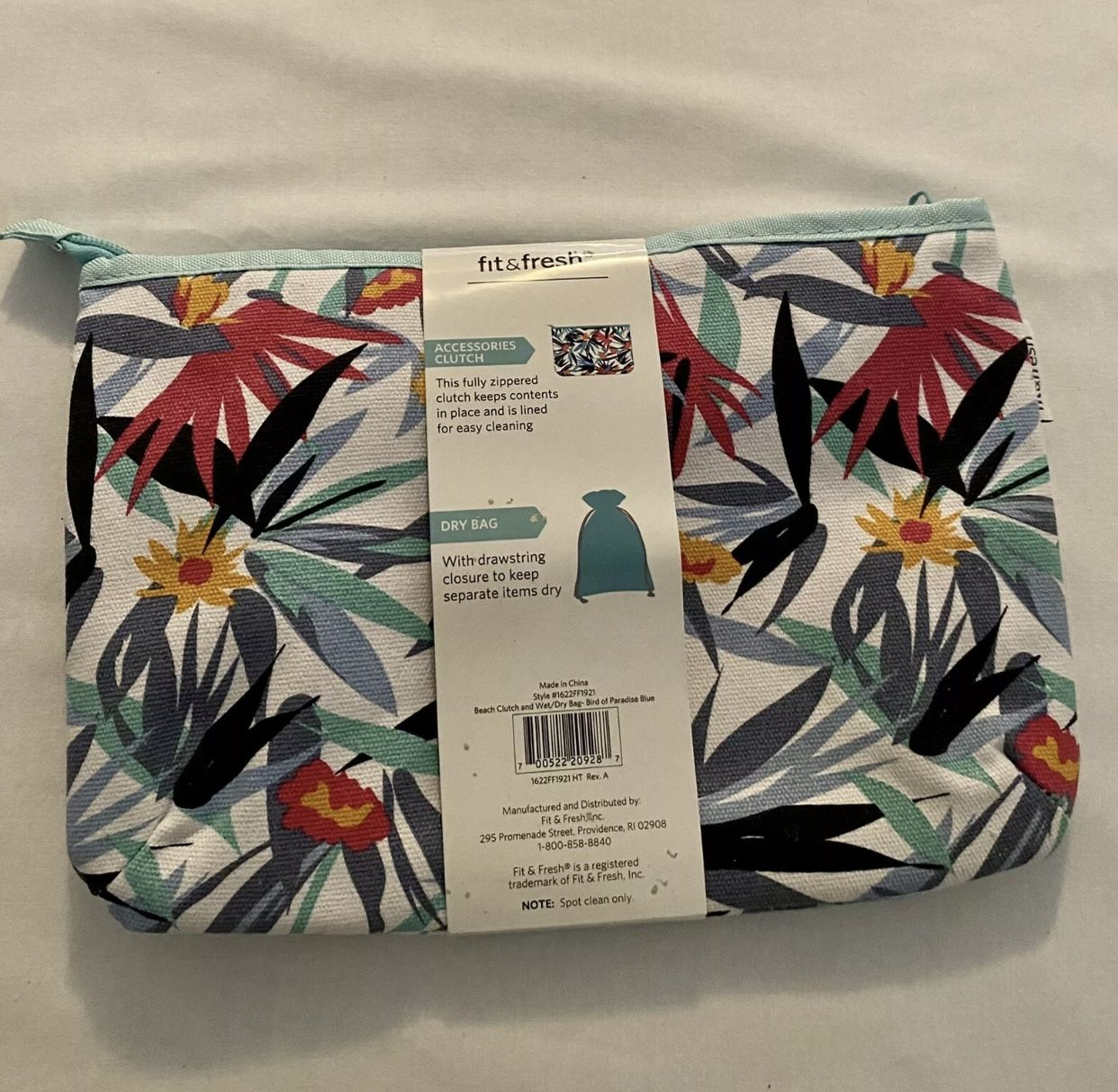 Beach Clutch & Dry Bag New, Never Used