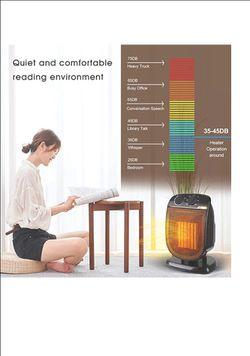 Ceramic fan heater Thumbnail