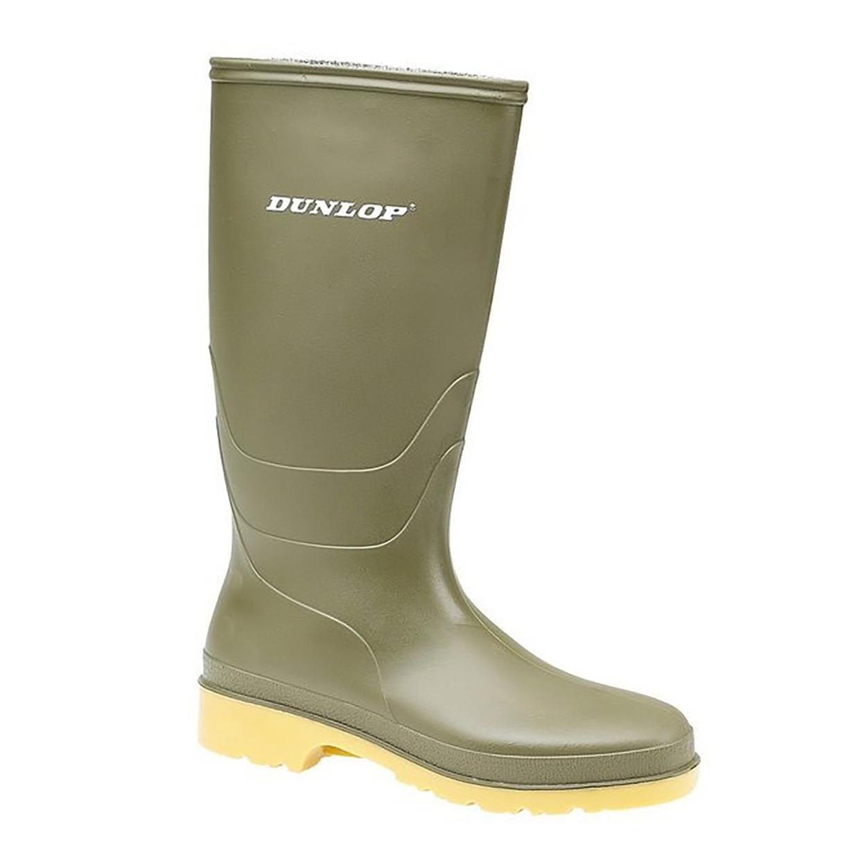 DUNLOP Childrens/Kids Unisex 16247 DULLS Rain Boots/Wellington Boots Size 4 US