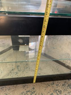 Glass TV Stand Thumbnail