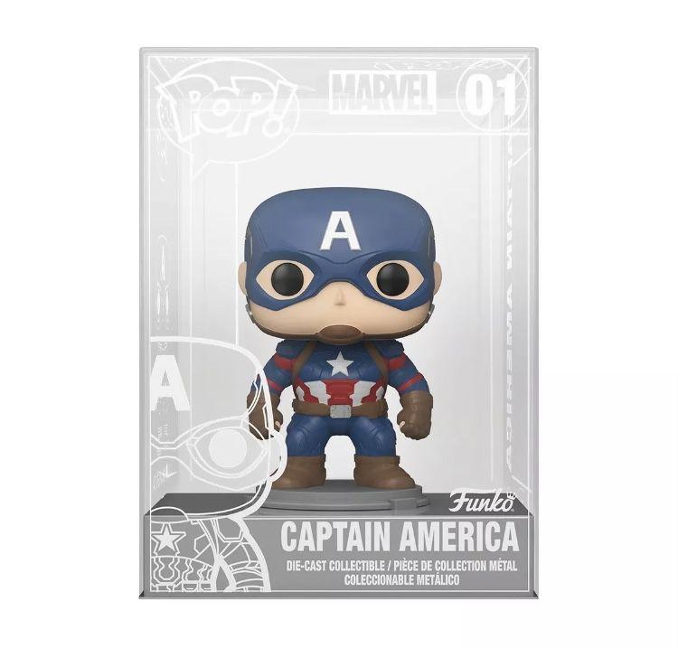Diecast Captain America Excl