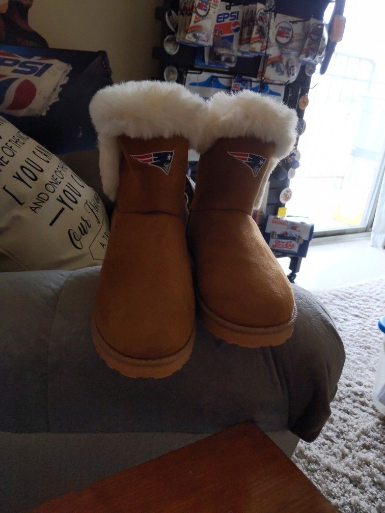 Women's New England Patriot's Boots