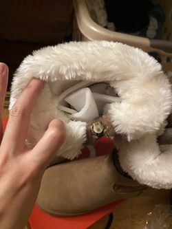 By Guess brown fur boot that is similar to UGGs Thumbnail