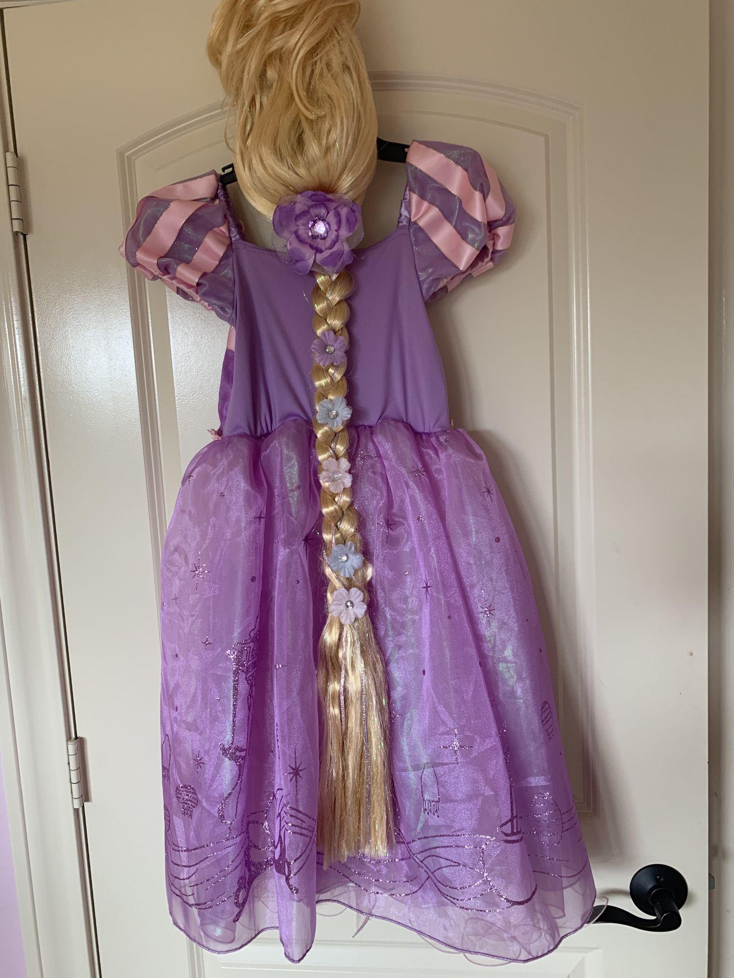 Rapunzel costume size 7/8