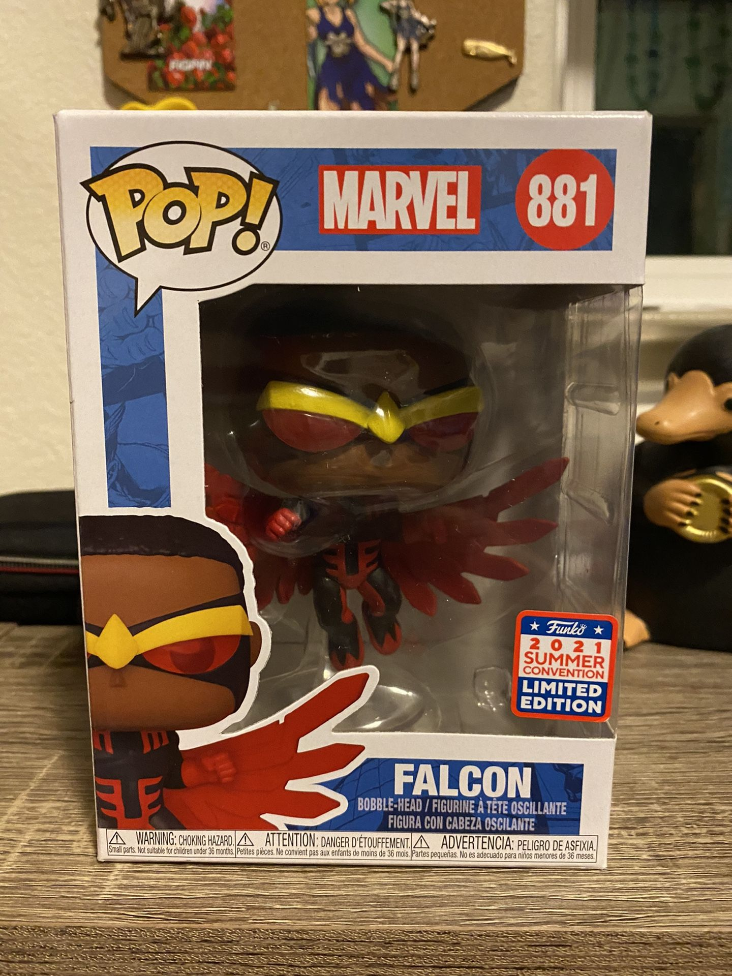 Summer Convention Falcon (Red Suit)