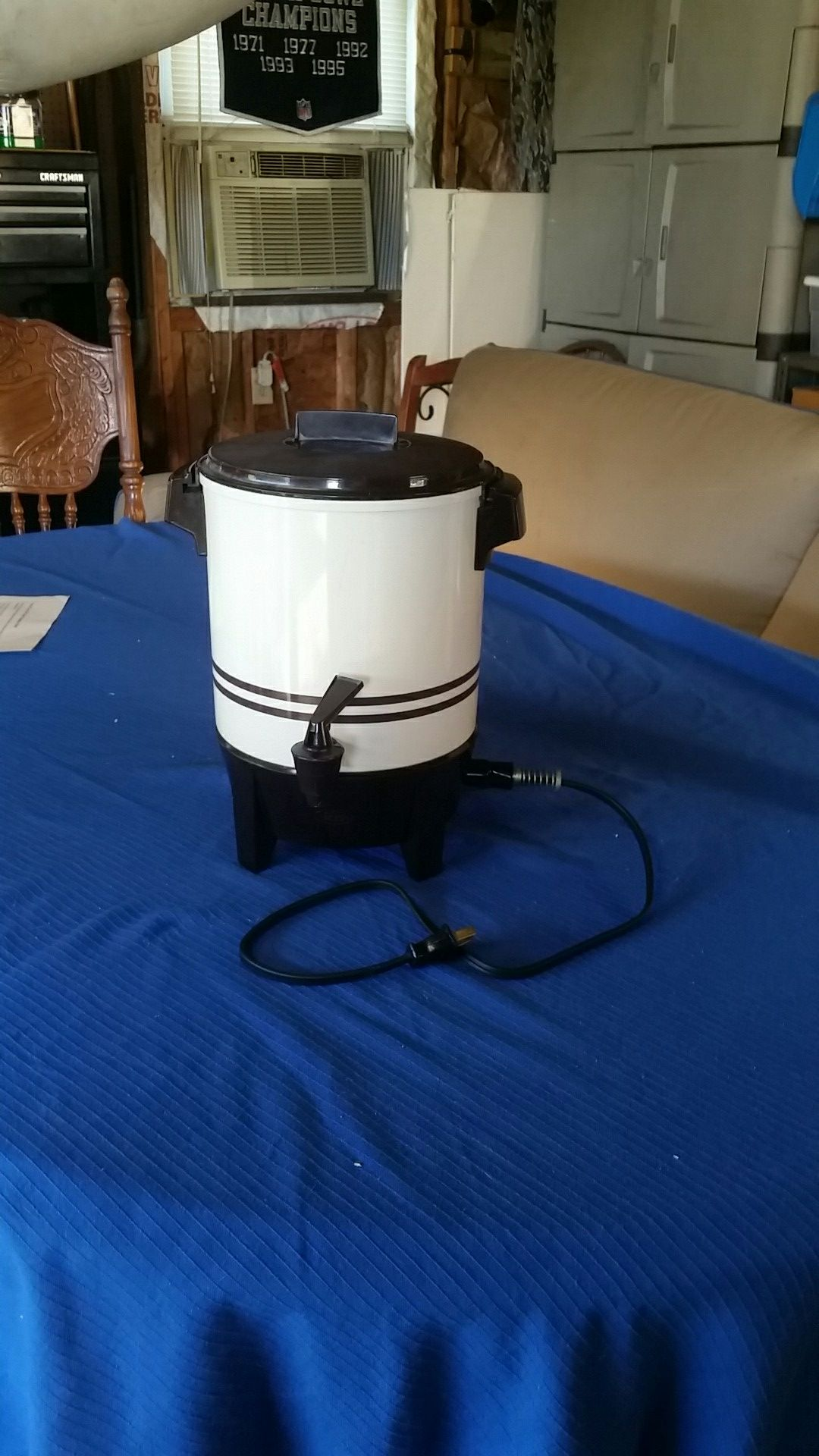 West Bend Coffee Percolator (12-22 cups)
