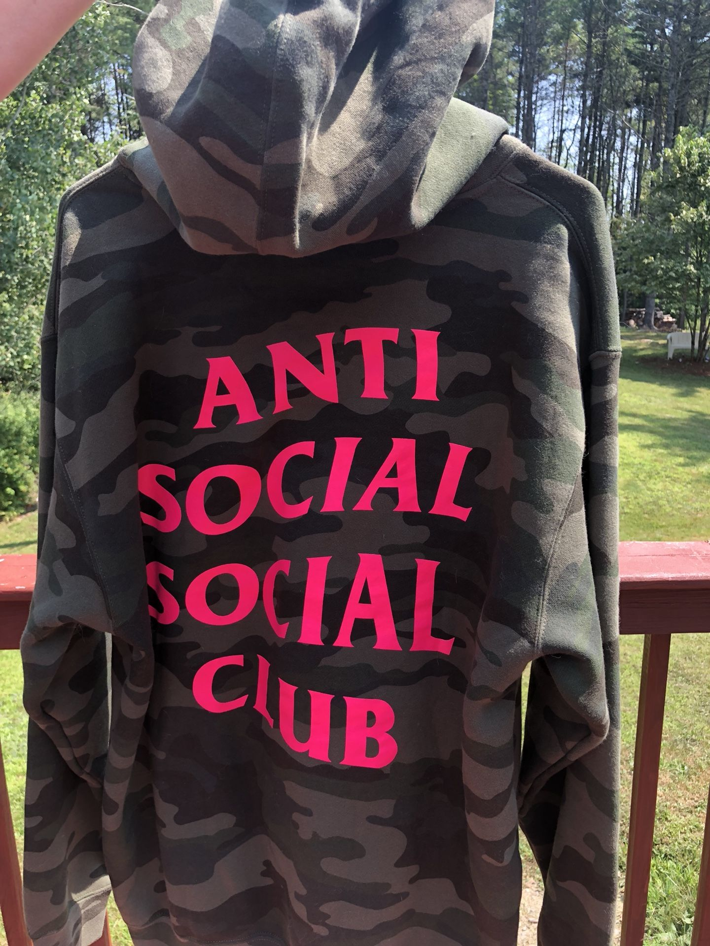 Anti Social Social Club Camo Break Me Hoodie (ASSC)