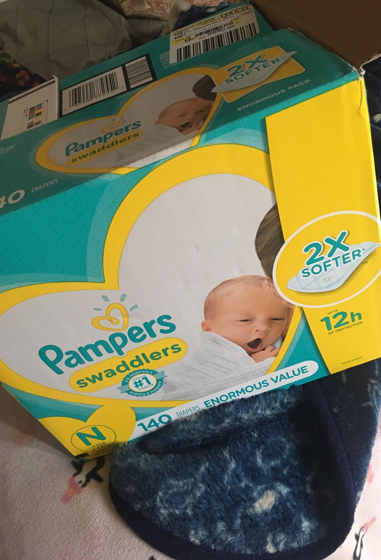 Pampers Swaddlers Newborn