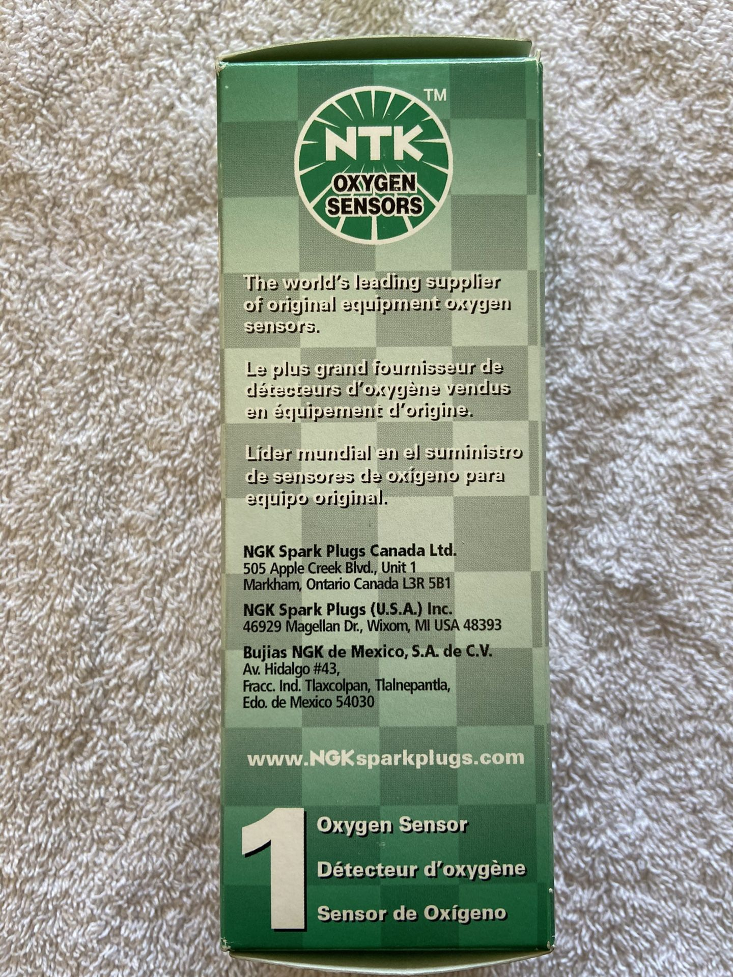 NTK Oxygen Sensors 24545 NGK Oxygen Sensor - NGK/NTK Packaging