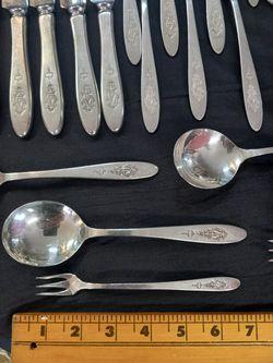 Vintage Silverware Set  Thumbnail