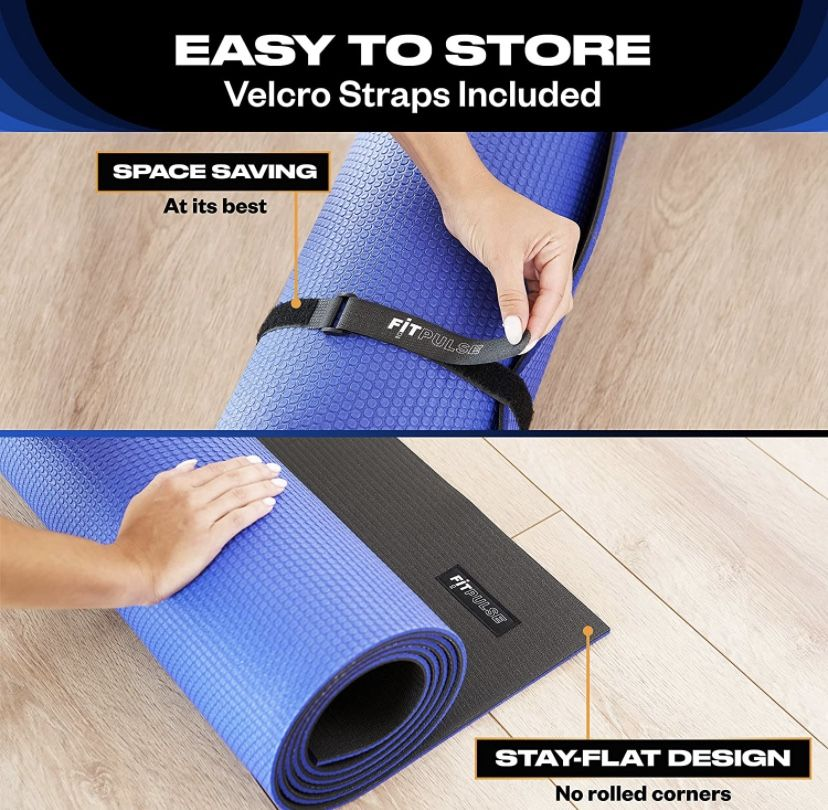 Large Exercise Mat Extra Large Yoga Mat Exercise Mats for Home Gym Equipment Large Workout Mat Extra Wide