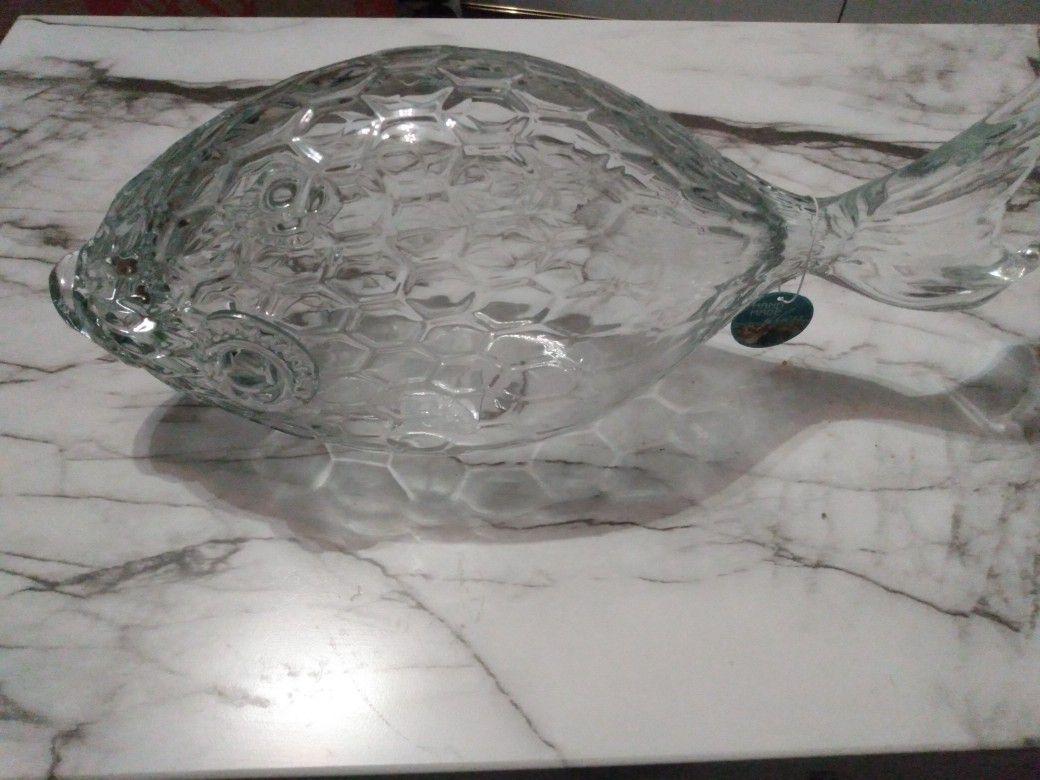 Decorative glass fish