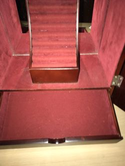 JEWELRY BOX LARGE WOOD Thumbnail