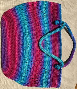Crochet star market/tote bag Thumbnail
