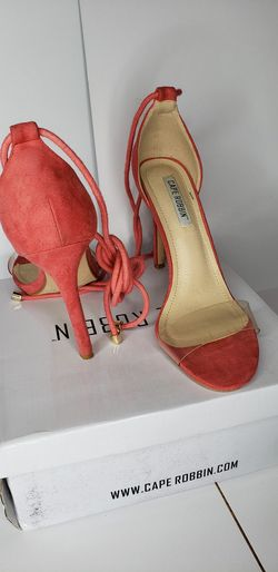 Clear heels size 8 Thumbnail