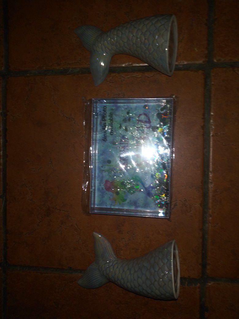 Mermaid decor bundle x3