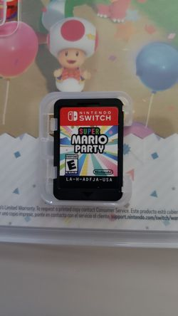 Super Mario Party For Nintendo Switch Thumbnail
